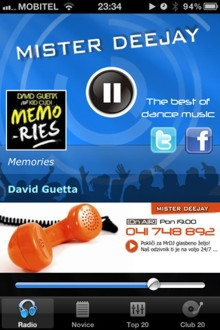 Mister Deejay iPhone APP