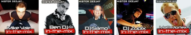 mrdj in the mix DJs